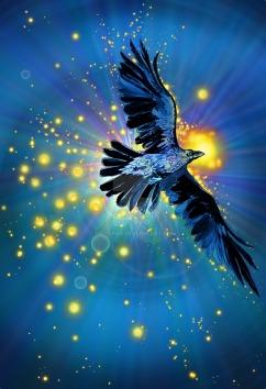 cosmic_raven_by_metzpah-d5wx8xi