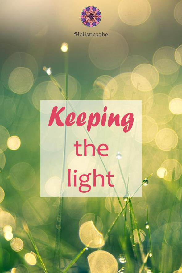 Keeping the light